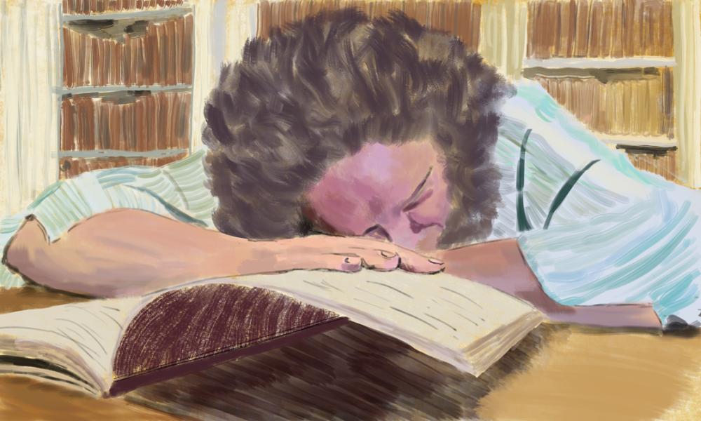 Sleeping Senthi