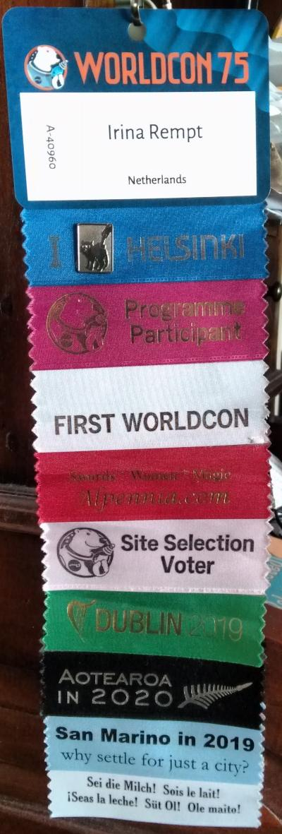 worldcon ribbons