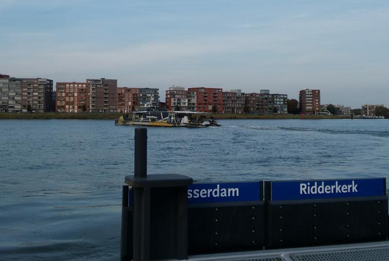 water bus on Merwede