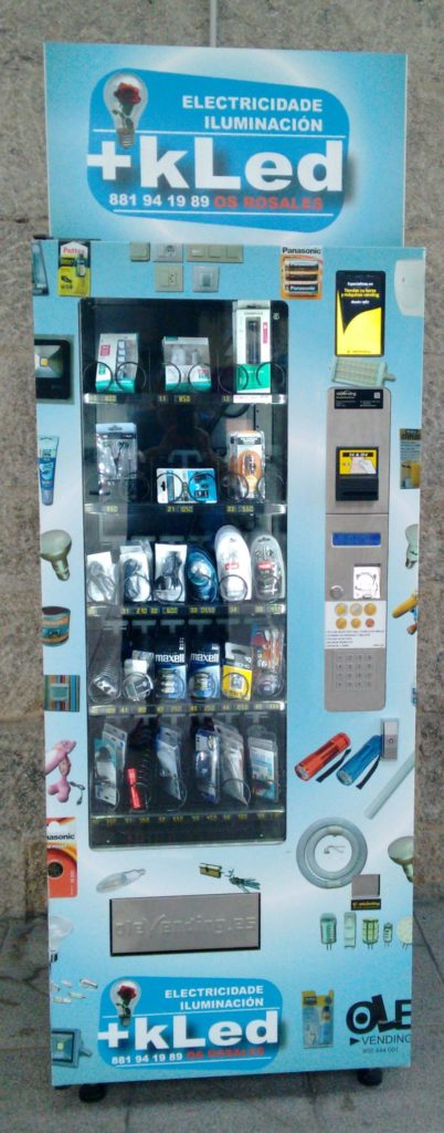 led vending machine