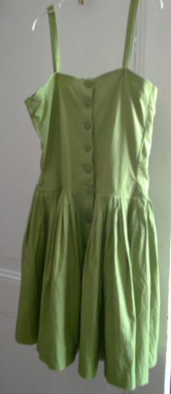 Prima's little green dress