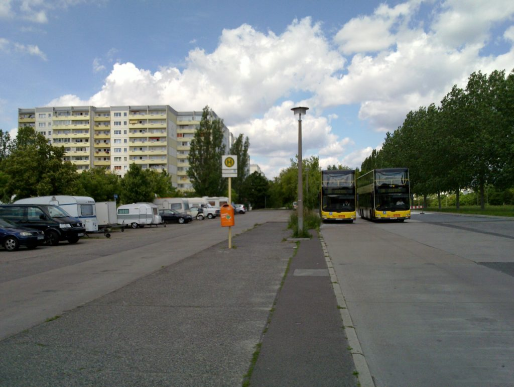 bus terminal Michelangelostrasse Berlin