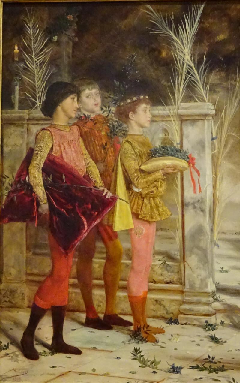 Pajes de la Dogaresa (1888), Jose Villegas Cordero