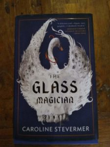 cover of The Glass Magician by Caroline Stevermer